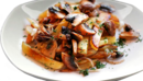 Картофель жареный с мясом и грибами
