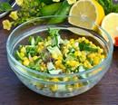 Салат овощной с кукурузой (130гр)