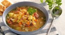 Суп гороховый с копчёностями (350мл)