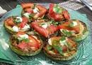 Закуска из жареных кабачков с помидором (130 гр)