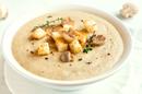 Суп пюре из шампиньонов с сухариками (350мл)